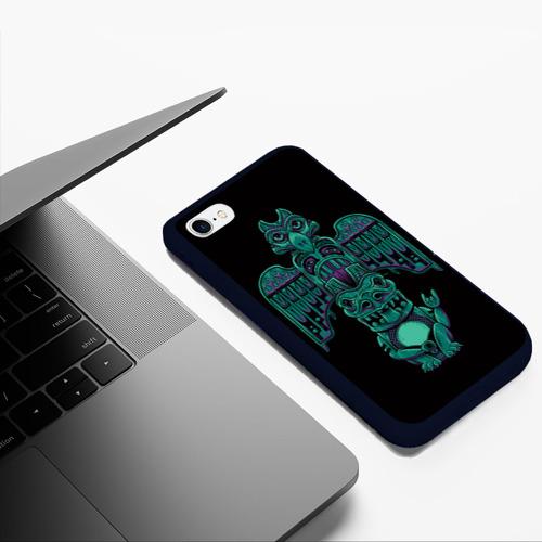 Чехол для iPhone 6Plus/6S Plus матовый Тотем  Фото 01