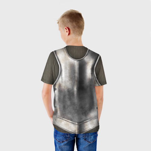 Детская футболка 3D  Фото 02, Доспех рыцаря