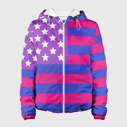 Женская куртка 3D  Фото 01, Би-Америка