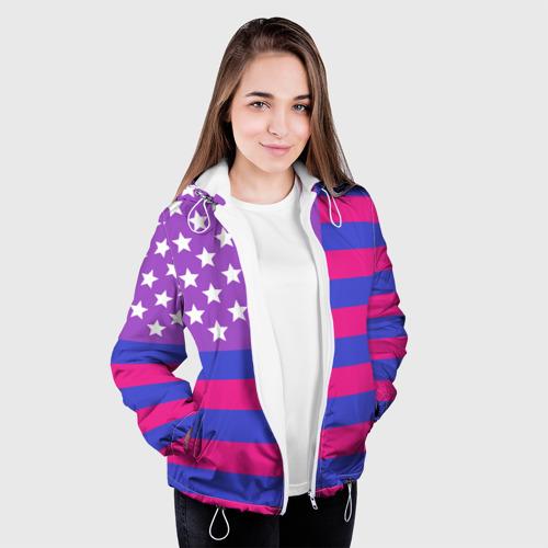 Женская куртка 3D  Фото 04, Би-Америка