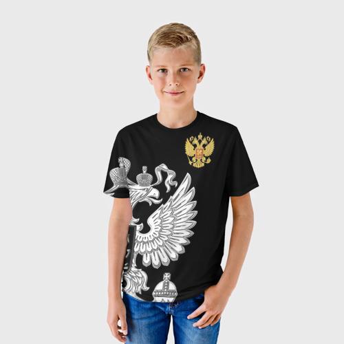 Детская футболка 3D Russia Exclusive black
