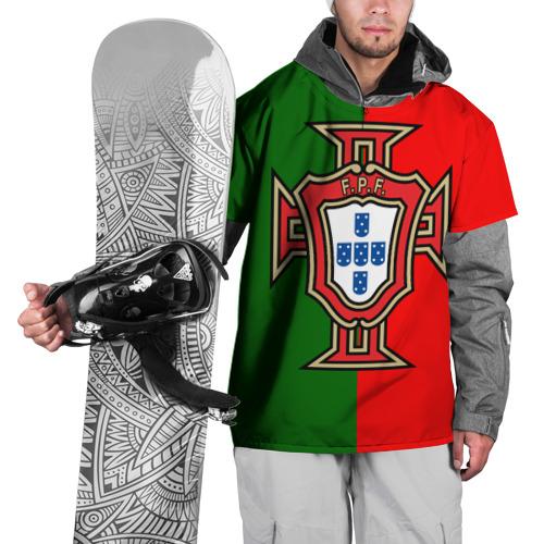 Накидка на куртку 3D  Фото 01, Сборная Португалии флаг