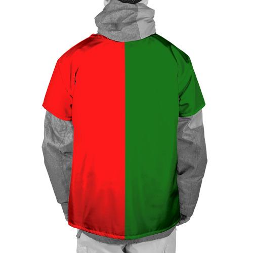 Накидка на куртку 3D  Фото 02, Сборная Португалии флаг