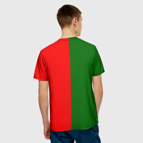 Мужская футболка 3D  Фото 02, Сборная Португалии флаг