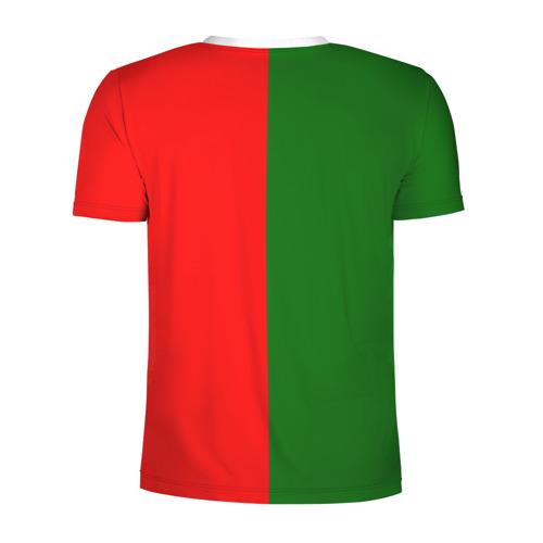 Мужская футболка 3D спортивная  Фото 02, Сборная Португалии флаг