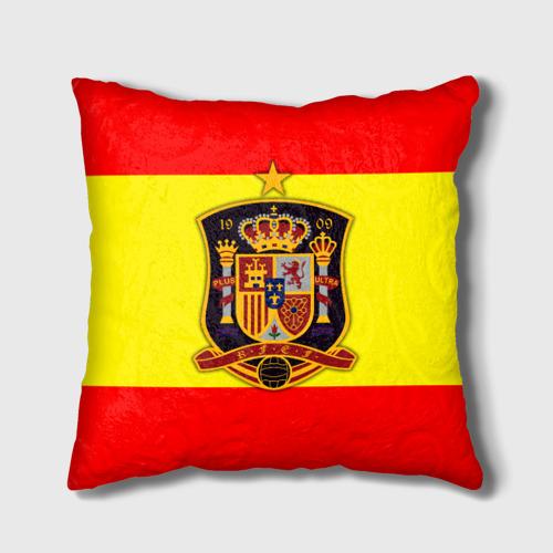 Подушка 3D Сборная Испании флаг Фото 01
