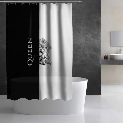 Штора 3D для ванной  Фото 03, Queen