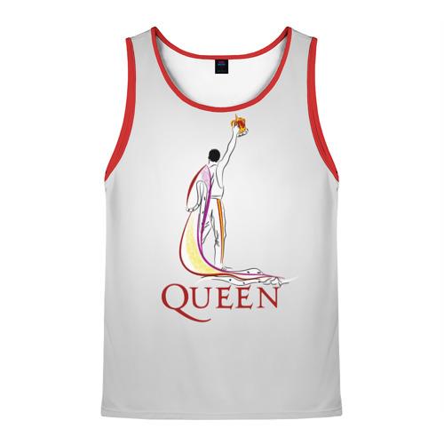Мужская майка 3D Queen