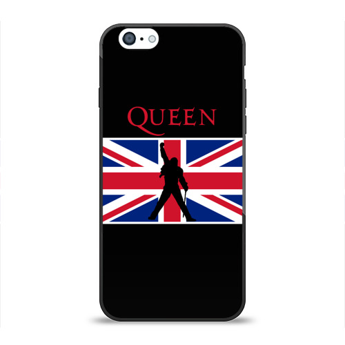 Чехол для Apple iPhone 6 силиконовый глянцевый  Фото 01, Queen