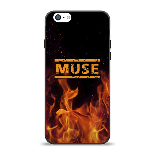 Чехол для Apple iPhone 6 силиконовый глянцевый  Фото 01, Muse