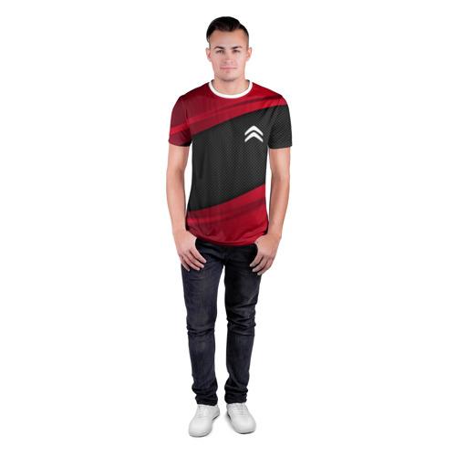 Мужская футболка 3D спортивная  Фото 04, CITROEN SPORT