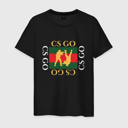 Мужская футболка хлопок CS GO gg Фото 01