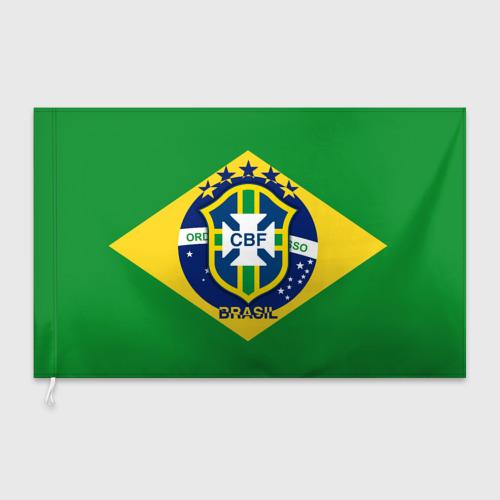 Флаг 3D Сборная Бразилии флаг Фото 01