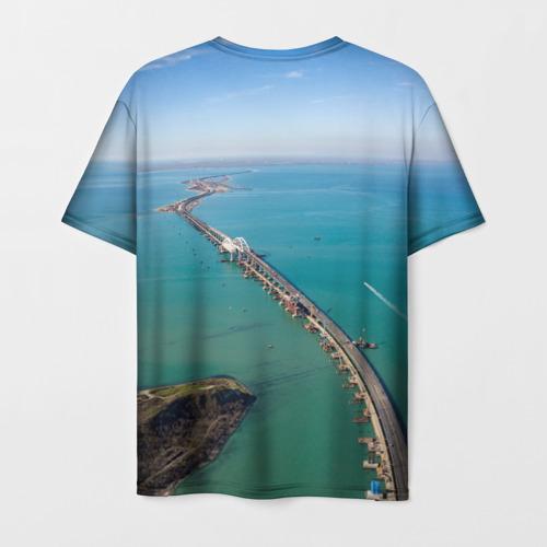 Мужская футболка 3D Крымский мост Фото 01