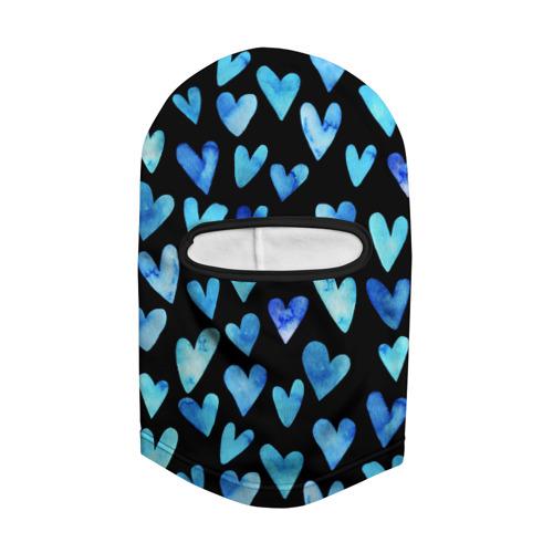Балаклава 3D  Фото 02, Blue Hearts
