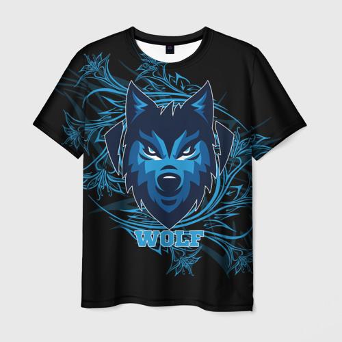 Мужская футболка 3D  Фото 03, Wolf