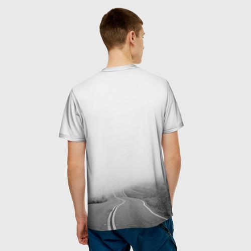 Мужская футболка 3D цитаты_Земфира Фото 01