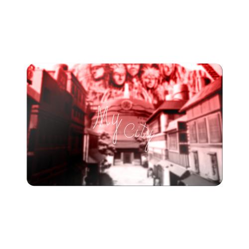 Магнит виниловый Visa  Фото 01, Naruto Konoha