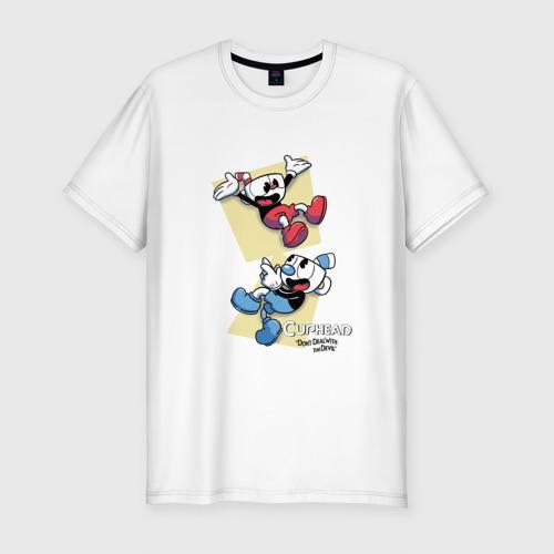 Мужская футболка премиум  Фото 01, Cuphead (2)