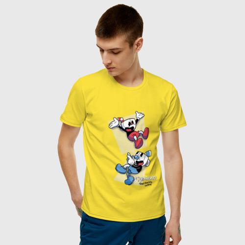 Мужская футболка хлопок  Фото 03, Cuphead (2)