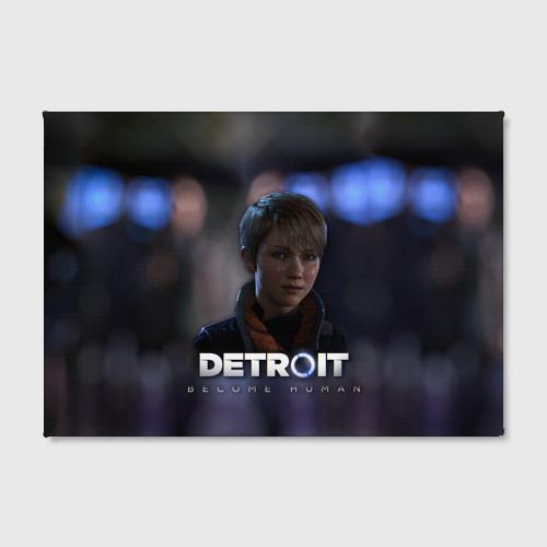 Холст прямоугольный  Фото 02, Detroit: Become Human - Kara
