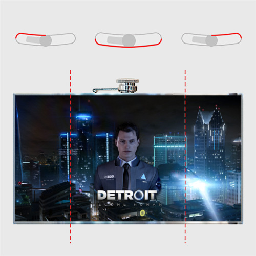 Фляга  Фото 05, Detroit: Become Human - Connor
