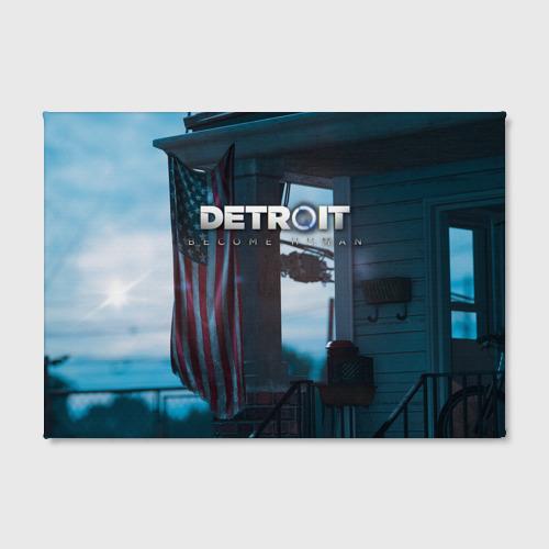 Холст прямоугольный  Фото 02, Detroit: Become Human city
