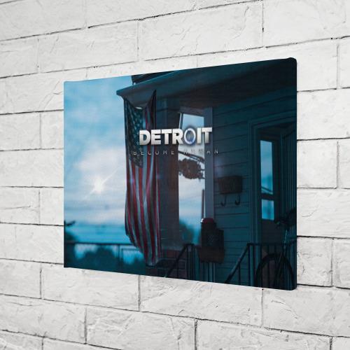 Холст прямоугольный  Фото 03, Detroit: Become Human city