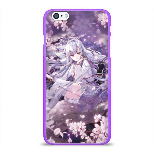 Чехол для Apple iPhone 6Plus/6SPlus силиконовый глянцевый Mahiru Hiragi Фото 01