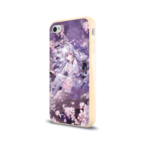 Чехол для Apple iPhone 4/4S силиконовый глянцевый Mahiru Hiragi Фото 01