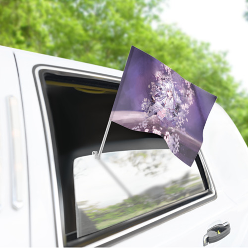 Флаг для автомобиля Mahiru Hiragi Фото 01