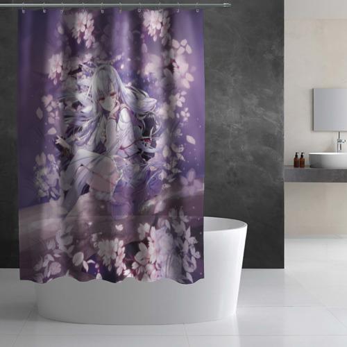 Штора 3D для ванной Mahiru Hiragi Фото 01