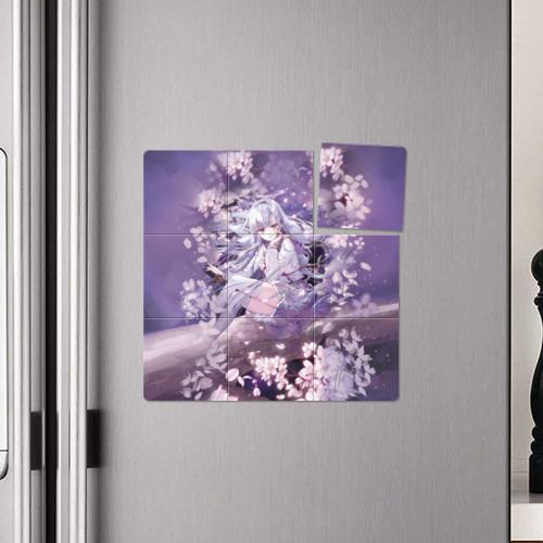 Магнитный плакат 3Х3 Mahiru Hiragi Фото 01