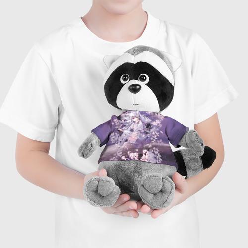 Игрушка Енотик в футболке 3D Mahiru Hiragi Фото 01