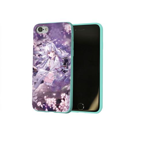 Чехол для Apple iPhone 8 силиконовый глянцевый Mahiru Hiragi Фото 01