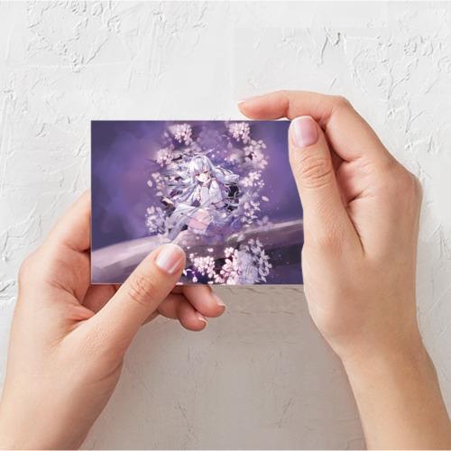 Поздравительная открытка Mahiru Hiragi Фото 01