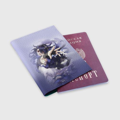 Обложка для паспорта матовая кожа  Фото 03, Ashuramaru