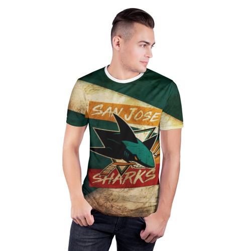 Мужская футболка 3D спортивная  Фото 03, Сан Хосе Олд
