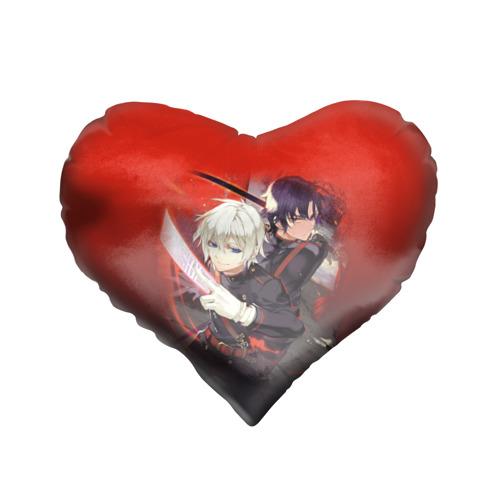 Подушка 3D сердце  Фото 01, Shinya & Guren
