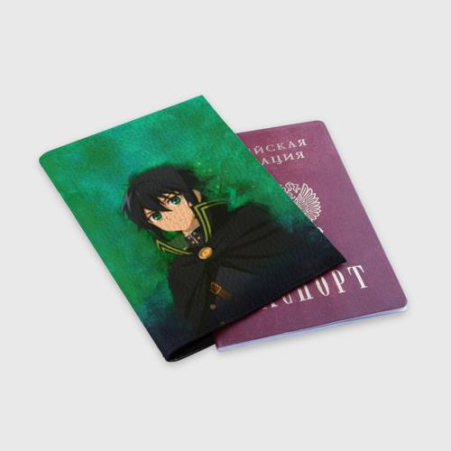 Обложка для паспорта матовая кожа  Фото 03, Yuichiro Hyakuya