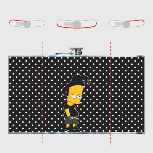 Фляга  Фото 05, Барт с дредами