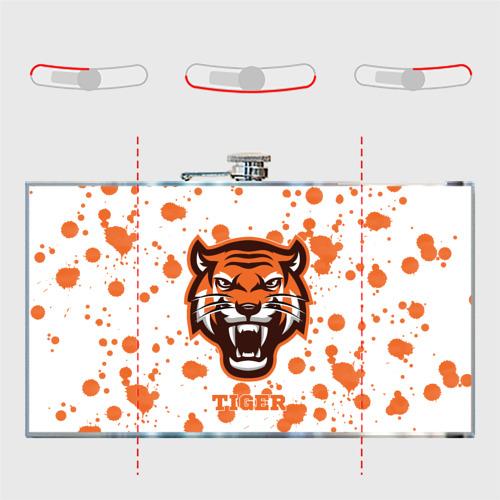 Фляга  Фото 05, Огненный тигр