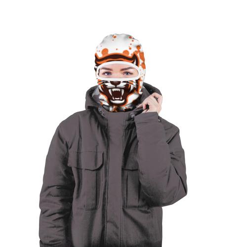 Балаклава 3D  Фото 04, Огненный тигр