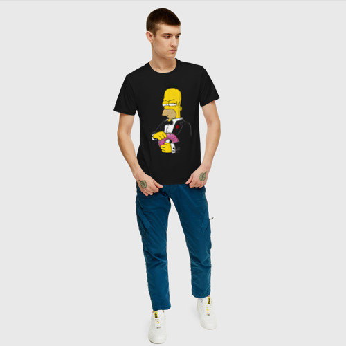 Мужская футболка хлопок Дон Гомер Фото 01