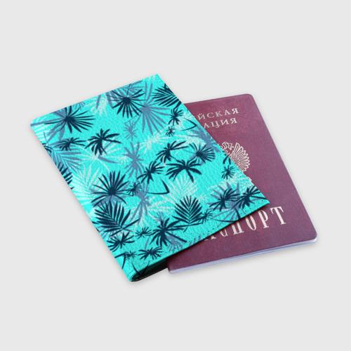 Обложка для паспорта матовая кожа GTA VICE CITY Фото 01