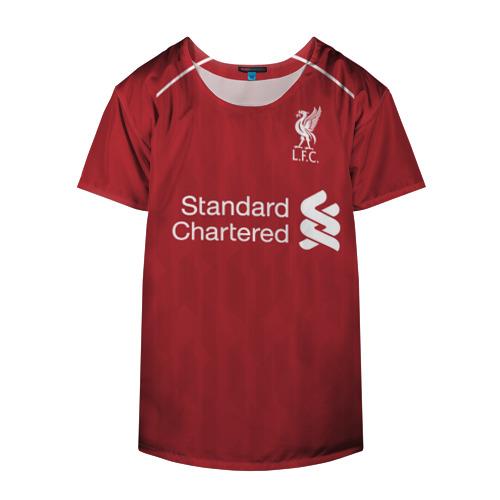 Накидка на куртку 3D  Фото 04, Liverpool home 18-19
