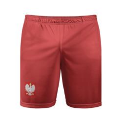 Польша шорты гостевая форма 2018