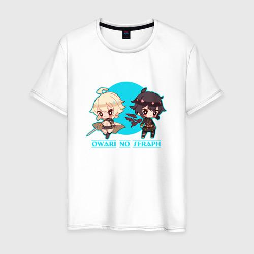 Мужская футболка хлопок Owari no Seraph