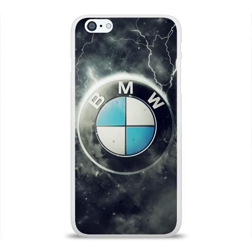 Чехол для Apple iPhone 6Plus/6SPlus силиконовый глянцевый Логотип BMW Фото 01