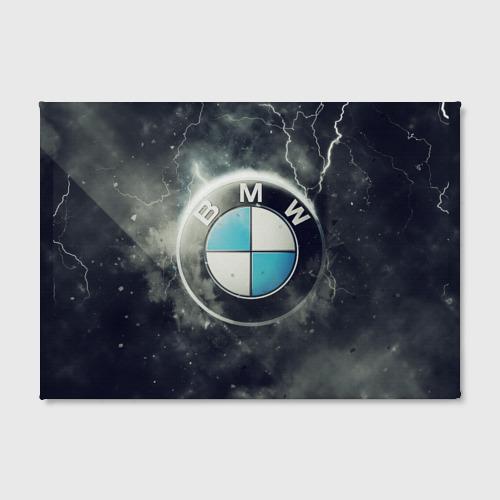 Холст прямоугольный Логотип BMW Фото 01